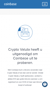 Coinbase Ethereum uitnodiging
