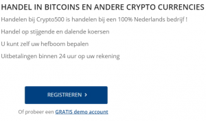 Crypto500 account