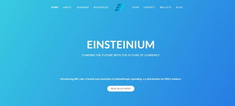 Einsteinium platform