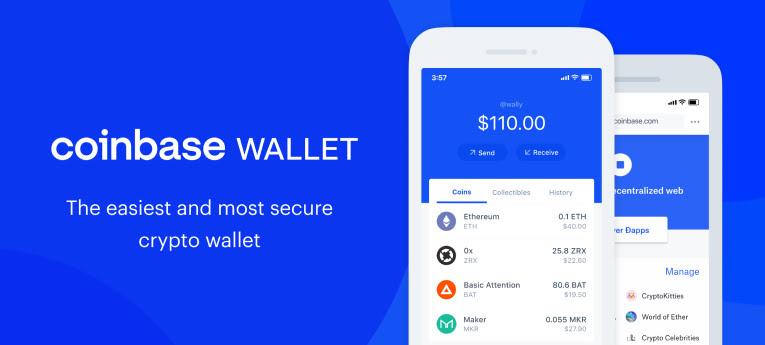 Coinbase wallet voor Gnosis