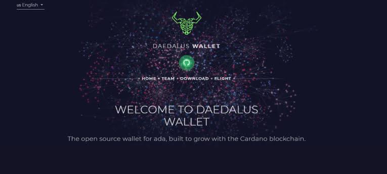 Deadalus wallet en cardano
