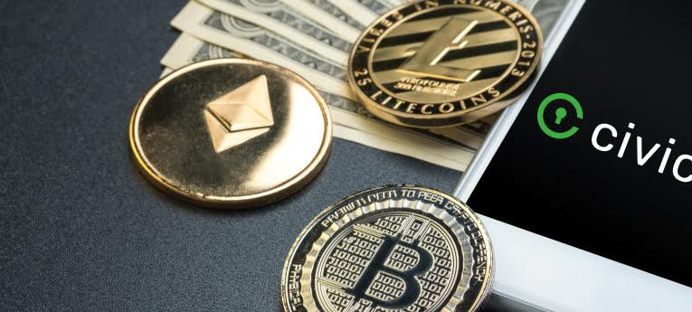 Ethereum wallet voor Civic